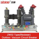 Zw32-12 Voltage van de Stroomonderbreker van Vcb van de Reeks het Vacuüm Hoge Midden