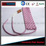 De flexibele Roze Ceramische Verwarmer van het Stootkussen