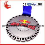 Il doppio di vendita diretta della fabbrica ha parteggiato medaglia vuota di sport del metallo di disegno