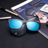 Novo Design mais grosso Stock Tr90 Desportos com clipe de óculos de sol