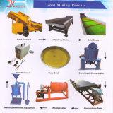 Crivello a tamburo di separazione alluvionale di estrazione mineraria dell'oro popolare 100t