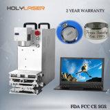 Bewegliches Gold und silberner Laser-Gravierfräsmaschine-Hersteller