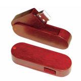 열쇠 고리 나무로 되는 플래시 메모리 지팡이 회전대 대나무 USB 섬광 드라이브