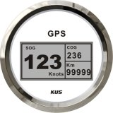 デジタルGPS速度計、車のトラックのユニバーサルオートバイの白の前面プレートのための速度計GPSの速度計