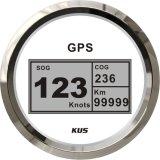 Indicador de GPS Digital, GPS de velocímetro velocímetro para aluguer de veículo Motociclo Universal placa branca