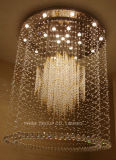 Luz de teto moderna decorativa de cristal de Phine boa grande