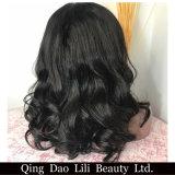 Parrucca piena brasiliana variopinta candeggiata del merletto dei nodi con i capelli del bambino per le donne di colore