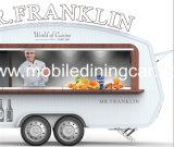 De mobiele Vrachtwagen van het Voedsel van de Straat van de Kiosk van de Catering met de Apparatuur van de Keuken voor Verkoop