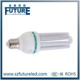Bombilla del maíz LED de la dimensión de una variable E27 3W de U con el Ce RoHS