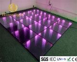 Espelho de 3D de LED abismo de Dança Arte piso em 3D