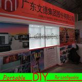 Concevoir la cabine acrylique 3X3m normale réutilisable modulaire portative d'étalage d'exposition