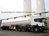 Di Cyy dell'ossigeno liquido dell'azoto dell'argon camion di serbatoio criogenico del diossido Cabochon
