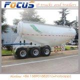 2 Vrachtwagen van het Cement van de Aanhangwagen van de Tank van het Poeder van het Cement van assen de Bulk