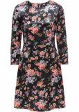Di vestito floreale dal manicotto di stampa della Jersey Digital 3/4