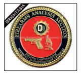 高品質の記念品(BYH-10813)のためのカスタム3D金属の硬貨