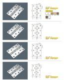 ステンレス鋼の正方形のヒンジ