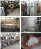 EPDMの繊維のペレタイジングを施すラインのためのゴム製プラスチック放出機械