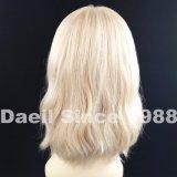 Peruca natural européia do cabelo humano