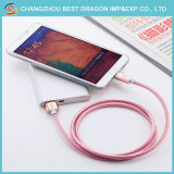 Trenzado Nylon 3.0 Datos de tipo C Cable USB para iPhone Samsung