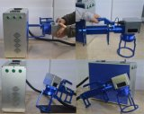 Máquina Handheld de la marca del metal del laser para la cadena de producción de la marca del metal