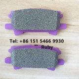 Material em cerâmica Semi-Metallic pastilha de travão traseiro para Rxlexus Lexus RX330, RX350, RX400H
