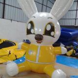 Надувные мультфильм заяц используется для рекламы, подарки (КТ-075)