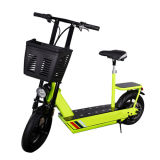 150kg Chargeur 36V 250W Folding Electric Motorcycle Adult