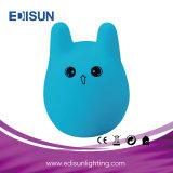 Indicatore luminoso portatile di notte del bambino di 7-Colors LED per il regalo di natale
