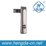Yh9608ステンレス鋼のキーのない電気キャビネットの平面ロック