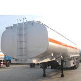 Tres ejes del remolque del depósito de Químicos de transporte