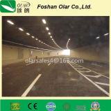 Panneau de ciment à fibre ignifuge pour tunnel / conduit de ventilation