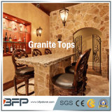 Pulido granito amarillo natural para Tops Bar / Tocador / Tabla