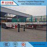 3 as 12.5m Skelet/de Skeletachtige Speciale Aanhangwagen van de Aanhangwagen van het Type Semi voor Vervoer van de Container 40FT/20FT
