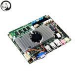 Atom N550 ventiladores de CPU de núcleo duplo Mini-ITX Motherboard com WiFi/3G a LVDS