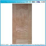 自然な黒いクルミの純木のVenner HDFのドアの皮
