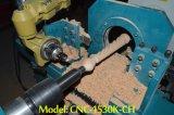 Torno de madeira do CNC para o giro do pé da tabela da escada/pé da cadeira