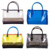 Heiße moderne transparente schöne Belüftung-Strand-Beutel-Handtaschen