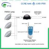 Diodo emissor de luz Remoted da lâmpada 30W SMD5050 RGBW do diodo emissor de luz de Controleld PAR56