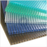 Decoration를 위한 수정같은 Polycarbonate Hollow Sheet