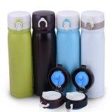 500ml double paroi en acier inoxydable Thermos bouteilles d'eau Fiole à vide