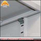 金属の家具の鋼鉄2ドアのオフィスのファイリングキャビネットを平ら詰めなさい
