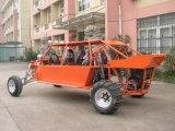 Cuatro asientos V6 o chasis del cochecillo de la arena de V8