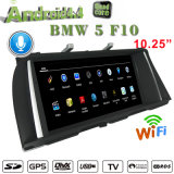 "10,25""Carplay antirreflectante de BMW 5 F10 estéreo para coche Android Internet 3G"