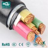 Стандарт IEC низкое напряжение стальной ленты бронированных кабель