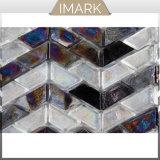 Mosaico di vetro del nuovo prodotto 2018 per le mattonelle della piscina di linea di galleggiamento