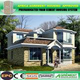 La casa prefabricada barata de la instalación rápida extensa y del buen aspecto/prefabricó la casa