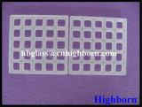 Résistance à la corrosion Processus ultérieur Plaque de verre à quartz à la silice au laser