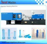 Machine de moulage de boissons d'animal familier injection manuelle célèbre de préforme