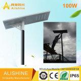 100W 옥외 제품 운동 측정기 램프 LED 태양 가로등