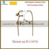 Robinet de baignoire sanitaire d'or de salle de bains d'articles D-114518